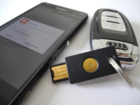 U2F, OTP, Google and LastPass